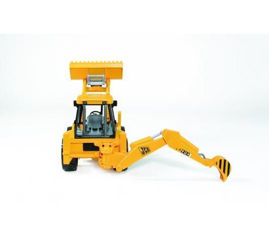 BRUDER 02428 (2428) Traktor JCB - čelní nakladač + bagr