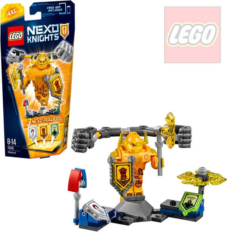 LEGO NEXO Knights Úžasný Axl STAVEBNICE 70336