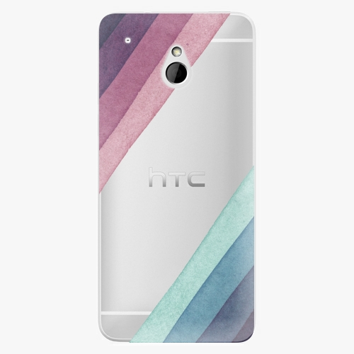 Plastový kryt iSaprio - Glitter Stripes 01 - HTC One Mini