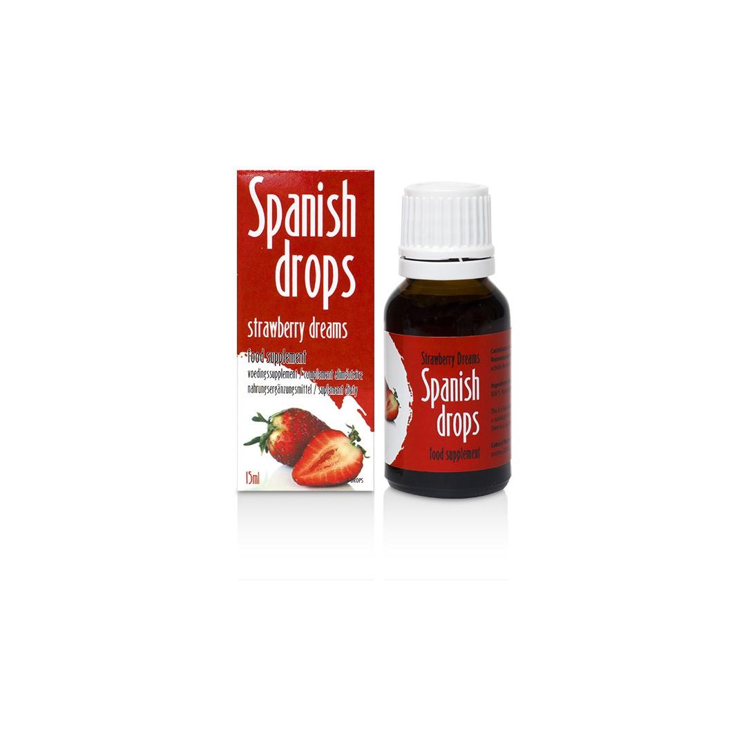 Španělské mušky jahoda - SpanishFly Strawberry Dreams 15ml