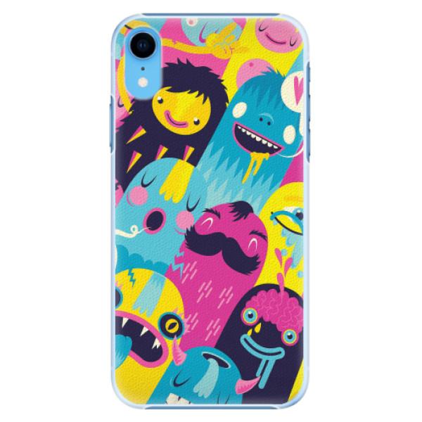 Plastové pouzdro iSaprio - Monsters - iPhone XR