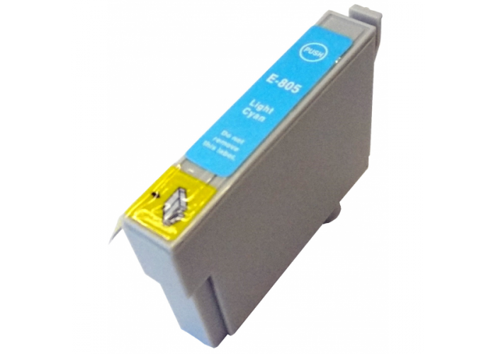 Inkoust T0805 kompatibilní světle azurový pro Epson Stylus R360 (15ml)