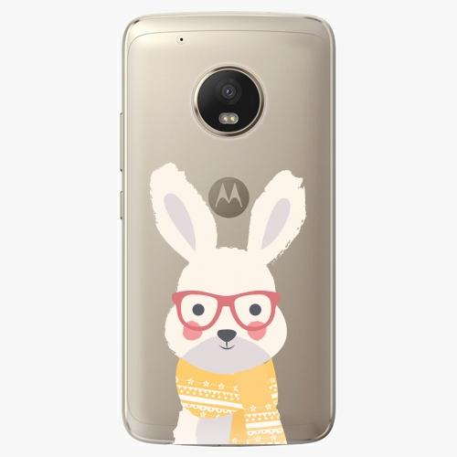 Plastový kryt iSaprio - Smart Rabbit - Lenovo Moto G5 Plus