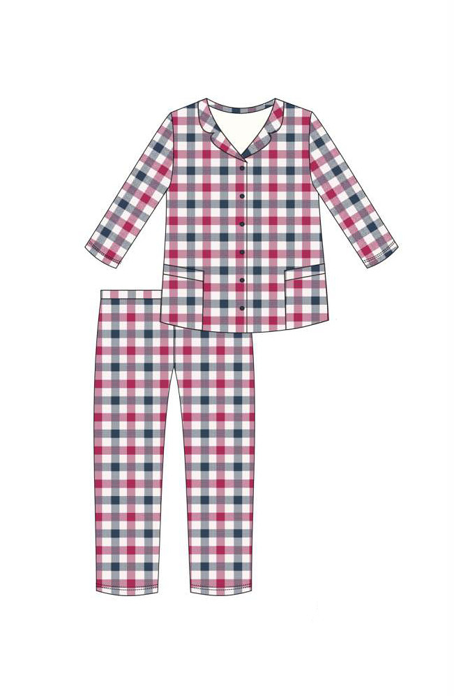 Dámské pyžamo Cornette 682/179 Jenny S-2XL