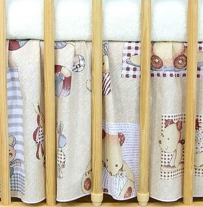 VÝPRODEJ Krásný volánek pod matraci - Hračky - 120x60