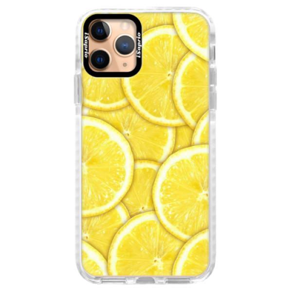 Silikonové pouzdro Bumper iSaprio - Yellow - iPhone 11 Pro