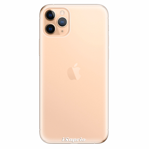 Silikonové pouzdro iSaprio - 4Pure - průhledný matný - iPhone 11 Pro Max