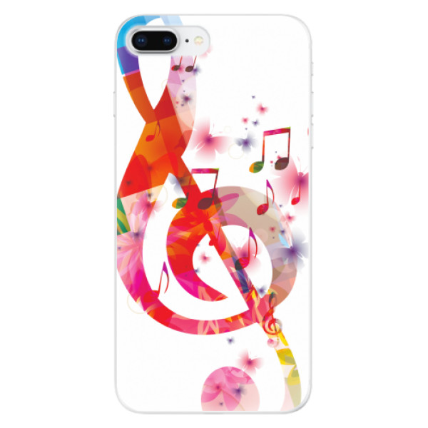 Odolné silikonové pouzdro iSaprio - Love Music - iPhone 8 Plus