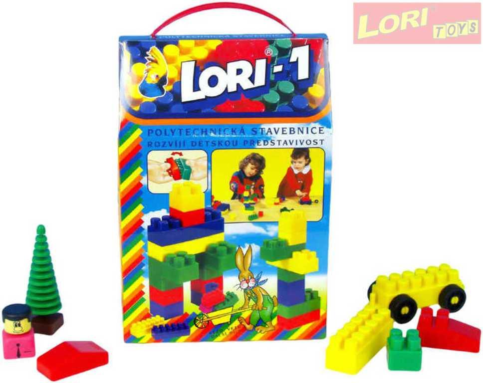 LORI 001 Stavebnice 1 50 ks kostek