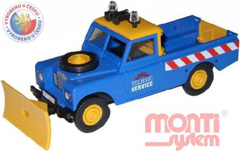 MONTI SYSTÉM 01 Auto Land Rover TECHNIC stavebnice MS01 0101-1
