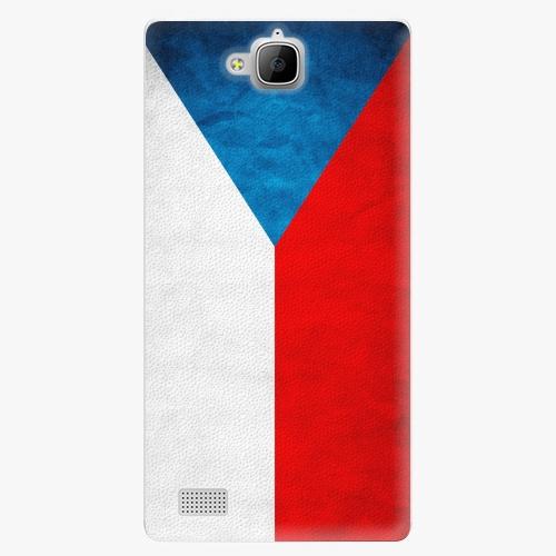 Plastový kryt iSaprio - Czech Flag - Huawei Honor 3C