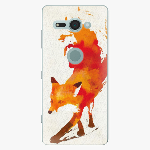 Plastový kryt iSaprio - Fast Fox - Sony Xperia XZ2 Compact