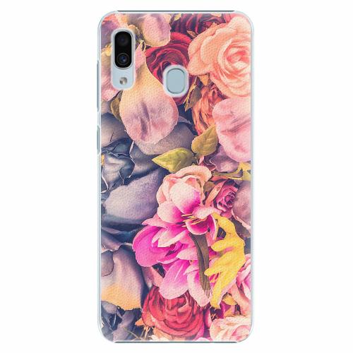 Plastový kryt iSaprio - Beauty Flowers - Samsung Galaxy A30