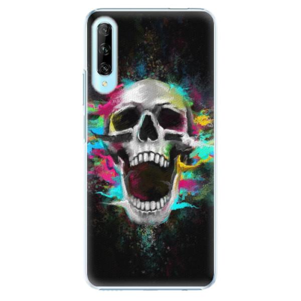 Plastové pouzdro iSaprio - Skull in Colors - Huawei P Smart Pro