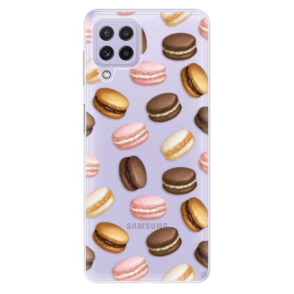 Odolné silikonové pouzdro iSaprio - Macaron Pattern - Samsung Galaxy A22