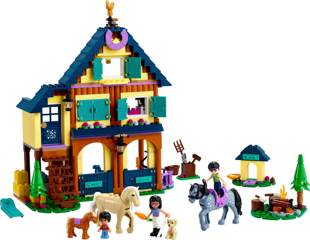 LEGO FRIENDS Lesní jezdecké středisko 41683 STAVEBNICE
