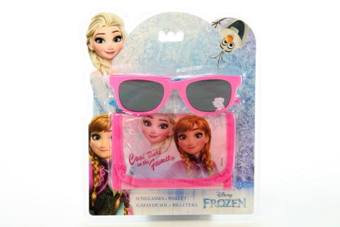 Frozen set brýle + peněženka