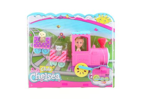 Barbie Chelsea s vláčkem FRL86