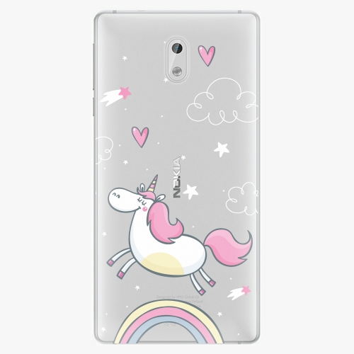 Plastový kryt iSaprio - Unicorn 01 - Nokia 3