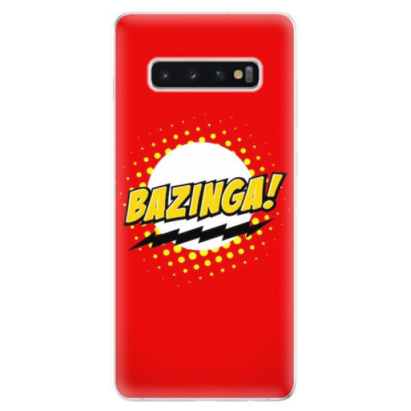 Odolné silikonové pouzdro iSaprio - Bazinga 01 - Samsung Galaxy S10+