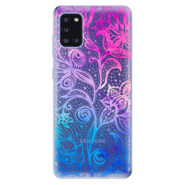 Odolné silikonové pouzdro iSaprio - Color Lace - Samsung Galaxy A31
