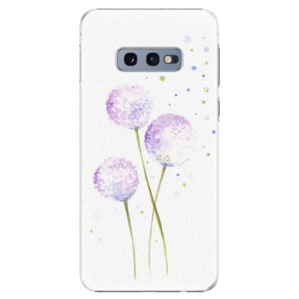 Plastové pouzdro iSaprio - Dandelion - Samsung Galaxy S10e