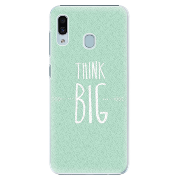 Plastové pouzdro iSaprio - Think Big - Samsung Galaxy A20