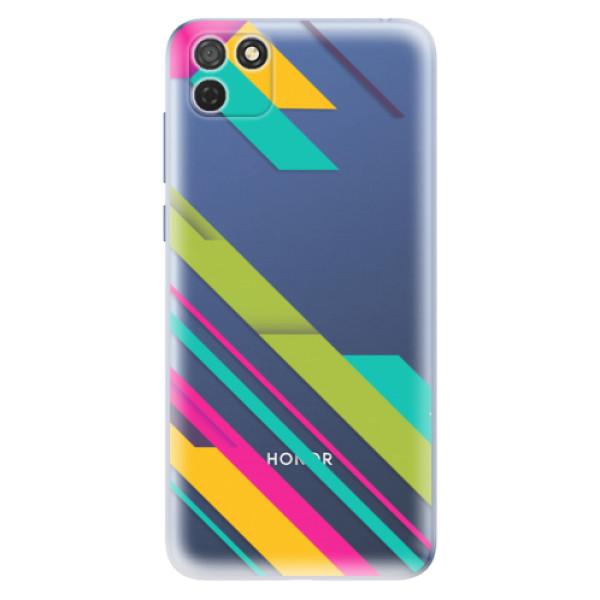 Odolné silikonové pouzdro iSaprio - Color Stripes 03 - Honor 9S