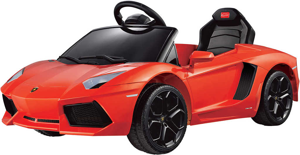 RC Auto Lamborghini Aventador 6V na vysílačku mp3 dětské ELEKTRICKÉ VOZIDLO