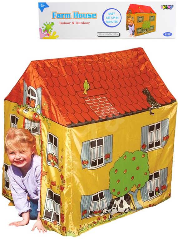 Stan dětský rodinný dům farmářský 95x72x102cm v krabici