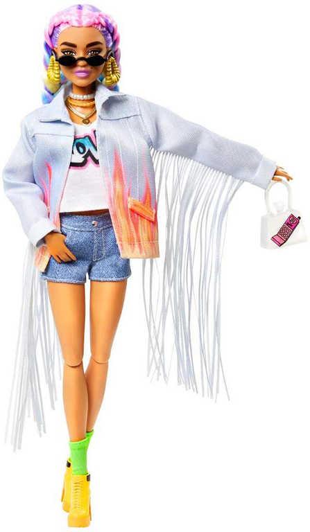 MATTEL BRB Panenka fashion Barbie Extra módní set s mazlíčkem 5 druhů