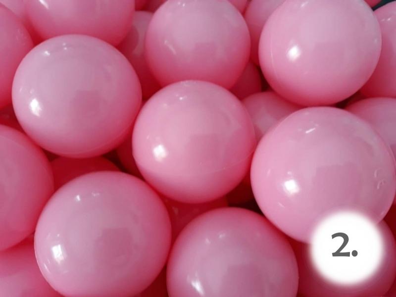 NELLYS Bazén pro děti 99x35cm + 150 balónků - růžový