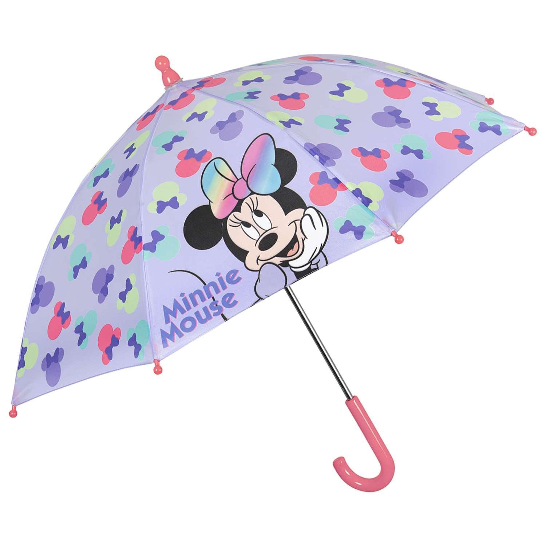 Dívčí deštník Perletti Minnie Mouse - fialová
