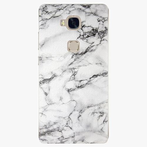 Plastový kryt iSaprio - White Marble 01 - Huawei Honor 5X