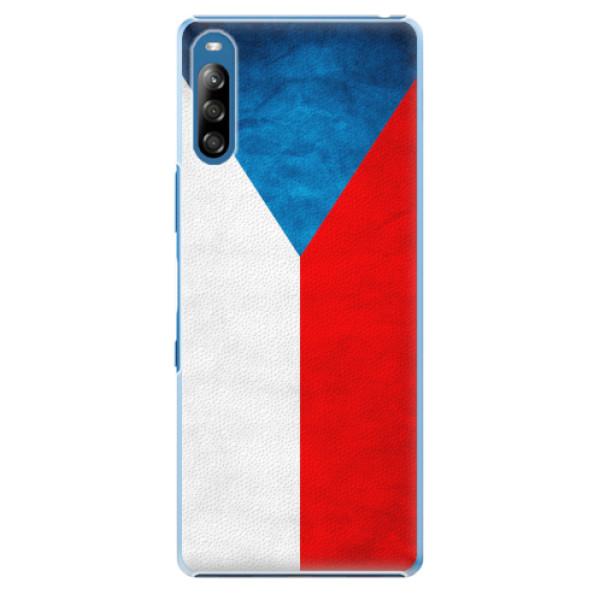 Plastové pouzdro iSaprio - Czech Flag - Sony Xperia L4