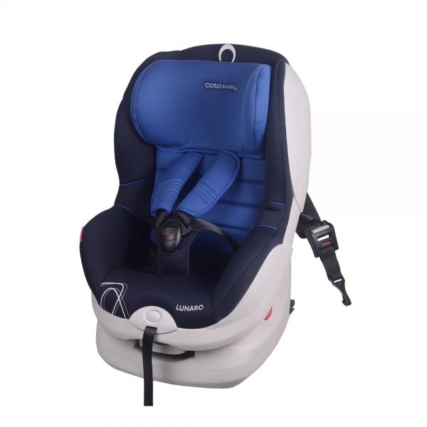 Autosedačka LUNARO 2016 Isofix - 9-18 kg - Modrá