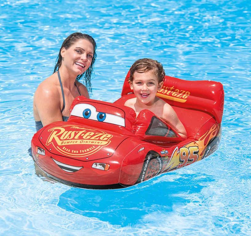 INTEX Auto nafukovací Cars (Auta) dětské plavidlo do vody