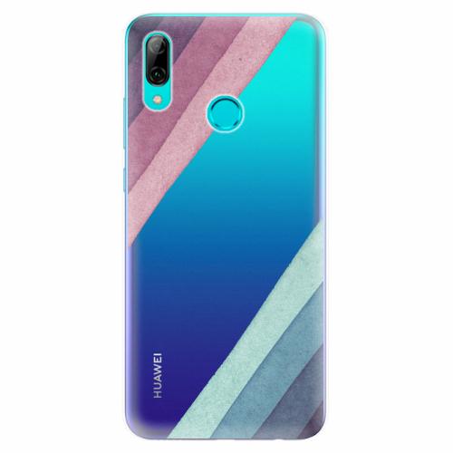 Silikonové pouzdro iSaprio - Glitter Stripes 01 - Huawei P Smart 2019