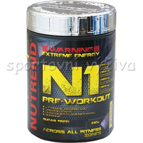 N1 Pre-Workout - 510g-cerny-rybiz
