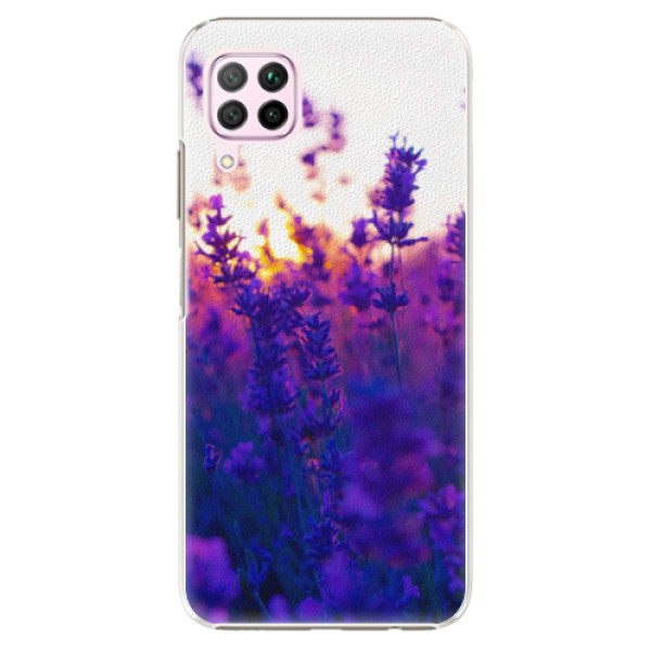 Plastové pouzdro iSaprio - Lavender Field - Huawei P40 Lite