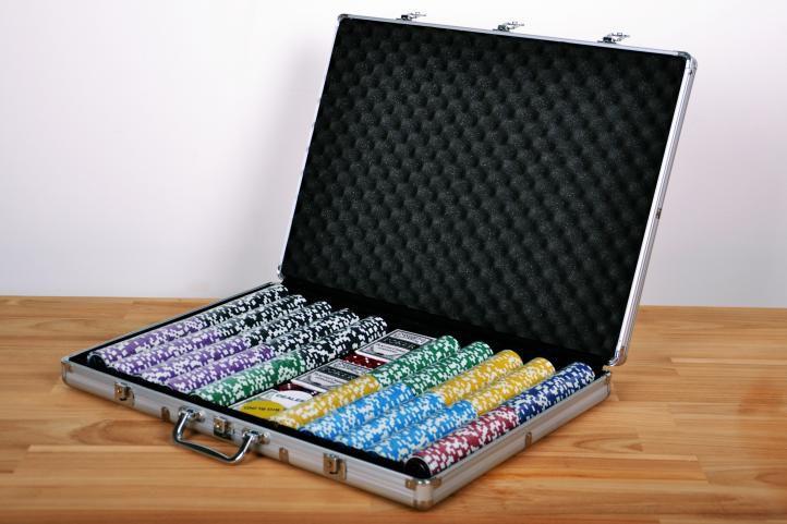 Pokerový kufr 1000 ks žetonů ULTIMATE