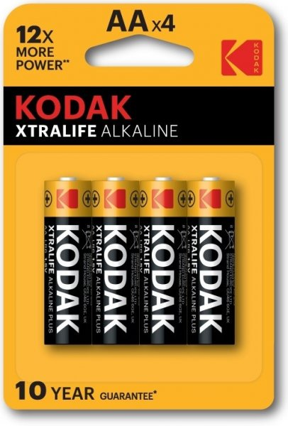 Baterie Kodak Xtralife AA 4ks