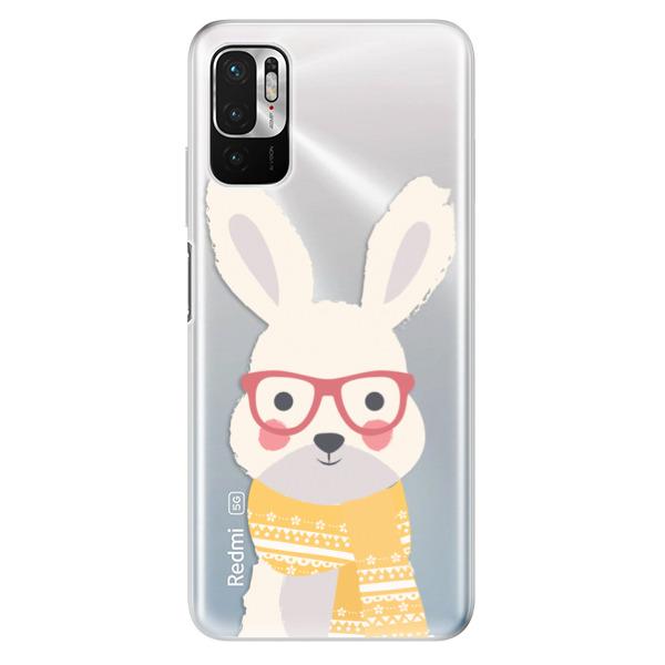 Odolné silikonové pouzdro iSaprio - Smart Rabbit - Xiaomi Redmi Note 10 5G