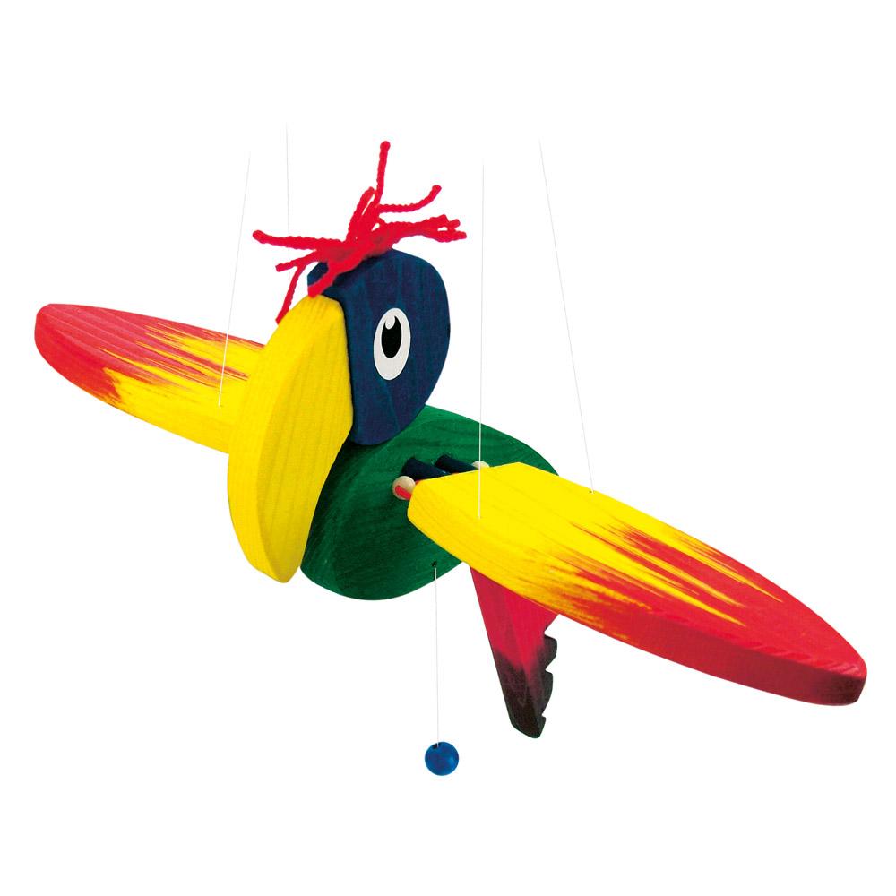 Závěsný papoušek - malý (DP)