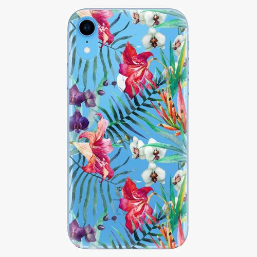 Silikonové pouzdro iSaprio - Flower Pattern 03 - iPhone XR