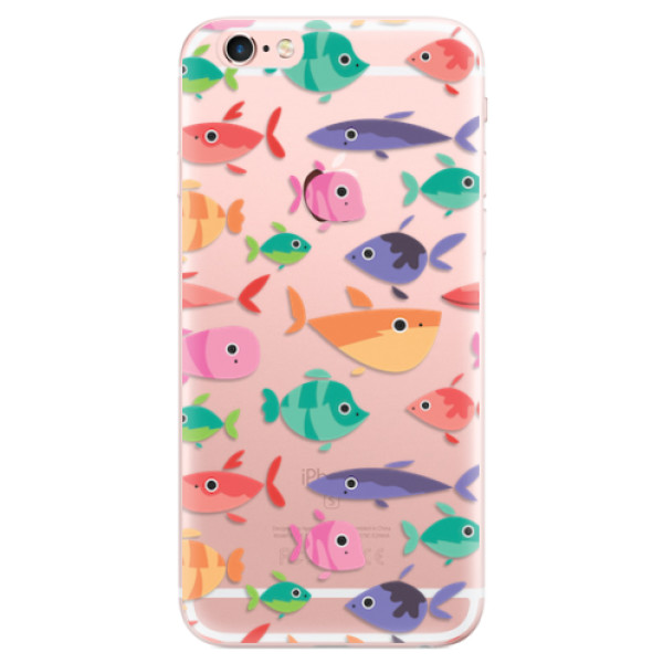 Odolné silikonové pouzdro iSaprio - Fish pattern 01 - iPhone 6 Plus/6S Plus