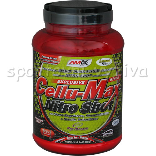 Cellu-Max Nitro Shot - 1800g-orange