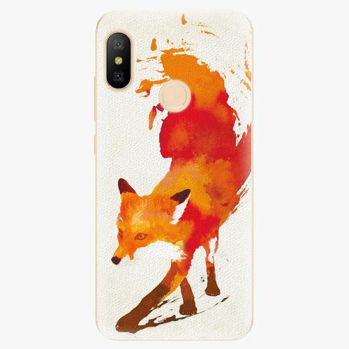 Silikonové pouzdro iSaprio - Fast Fox - Xiaomi Mi A2 Lite