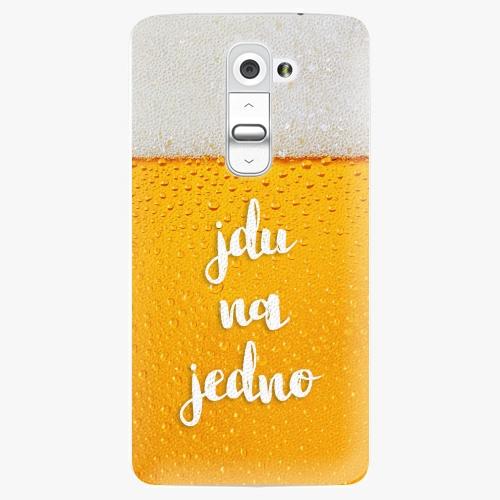 Plastový kryt iSaprio - Jdu na jedno - LG G2 (D802B)