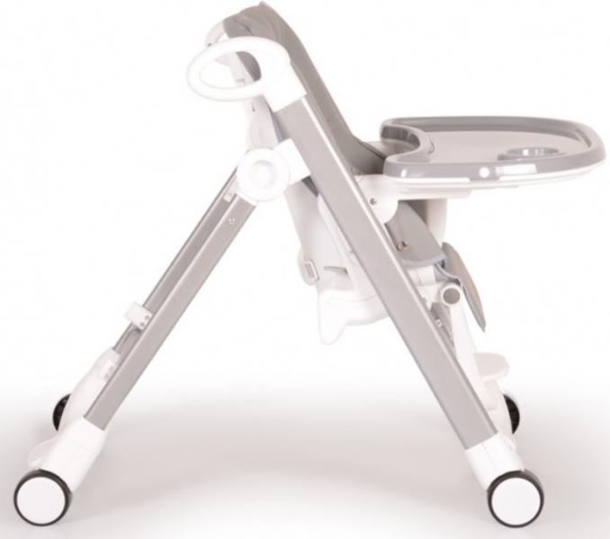 Moni Dětská jídelní židlička Brunch - šedá